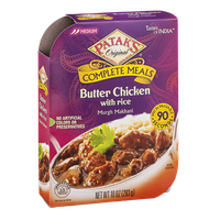 Patak's Tastes Of India Complete Meals Butter Chicken With Rice Murgh Makhani Medium
