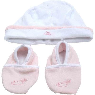 Piccolo Bambino Cotton Hat and Booties Newborn