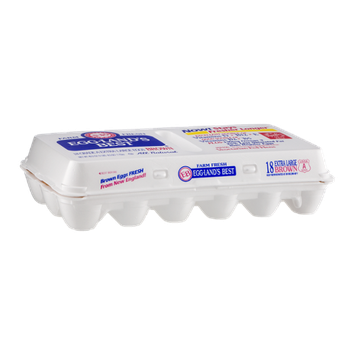 Eggland's Best Grade A Brown Eggs Extra Large - 18 CT