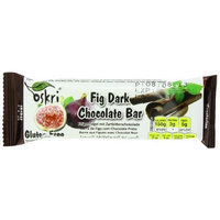 Oskri Organics Oskri Fig Bar with Dark Chocolate, 1.9-Ounce (Pack of 20)