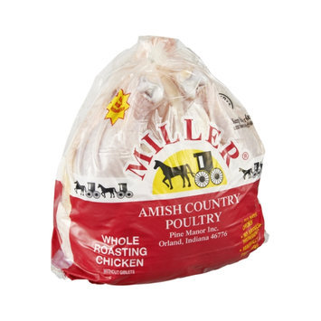 Miller Amish Country Poultry Whole Roasting Chicken