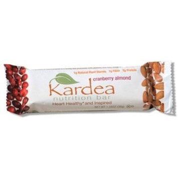 Kardea Nutrition Wellness Bar Cranberry Almond 15 count