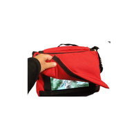Nimbustote busTote-201 Original Red with FLAP for iPad