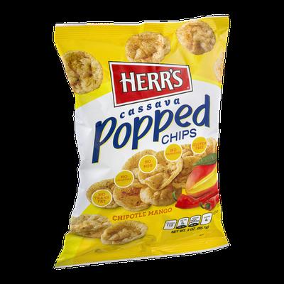 Herr's Cassava Popped Chips Chipotle Mango