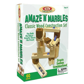 POOF-Slinky 4600M Ideal Amaze N Marbles Classic Wood Construction Set