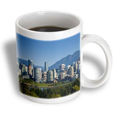 Recaro North 3dRose - Danita Delimont - Vancouver - Skyline of Vancouver, British Columbia, Canada-CN02 TWE0039 - E.O. Reed - 15 oz mug