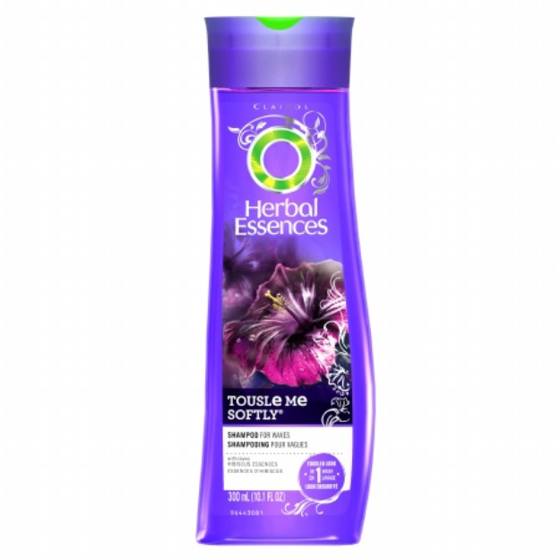 Herbal Essences Tousle Me Softly Hair Shampoo for a Tousled Look
