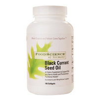 FoodScience of Vermont Black Currant Seed Oil