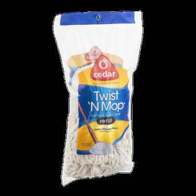 O-Cedar Twist 'N Mop Cotton Twist Mop Refill