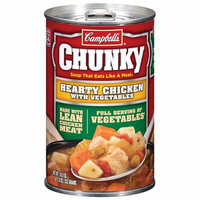 Chunky Hearty Chicken w/Vegetables Soup