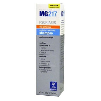 TRITON CONSUMER PRODUCTS MG 217 Medicated Coal Tar Shampoo for Psoriasis, 8 Fluid Ounce