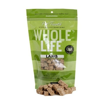 Whole Life Pet Products Whole Life Pet Pure Meat All Natural Freeze Dried Lamb Treats 3.3 oz