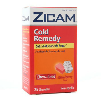 Zicam Cold Remedy Homeopathic Chewables