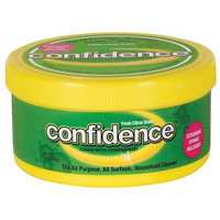 Confidence All-Purpose, All-Surface Household Cleaner with Sponge, 12-Ounce Jars (Pack of 3)