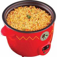 Sensio El Paso 10-Cup Rice Cooker, Red