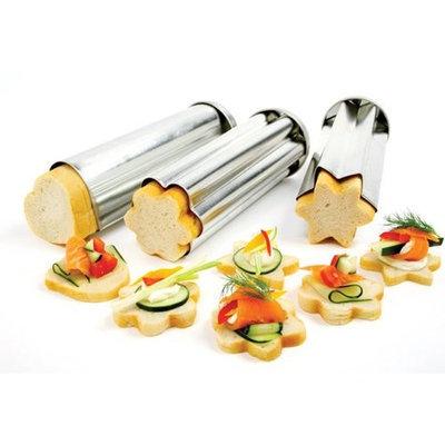 Norpro 3 Piece Canape Bread Mold Set []