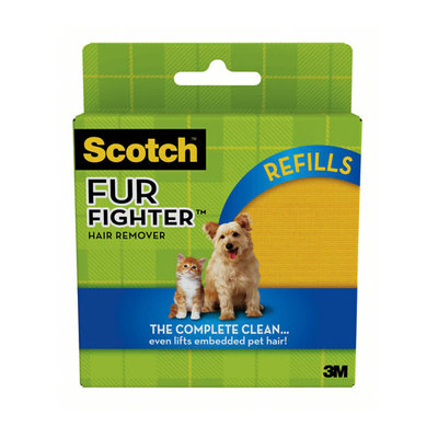 Scotch Fur Fighter Hair Remover Refill Sheets