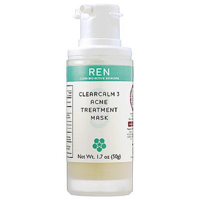 REN ClearCalm 3 Anti-Acne Treatment Mask 1.7 oz