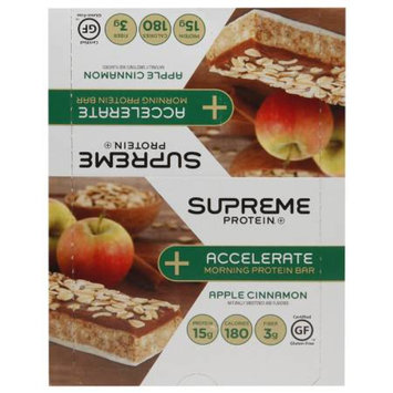 Supreme Protein Accelerate Protein Bar Apple Cinnamon