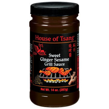 House Of Tsang Grill Sauce, Sweet Ginger Sesame, 14 OZ (Pack of 6)