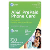 AT&T $20 Flat Rate Phone Card