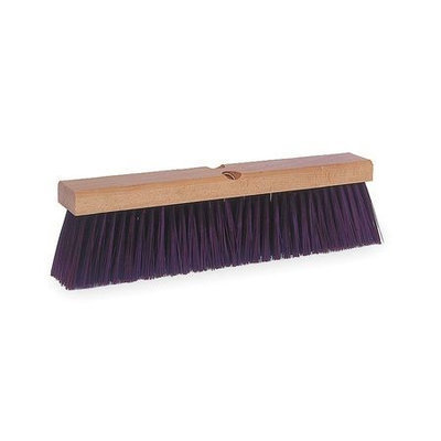 TOUGH GUY 2PYV6 Push Broom, Maroon Synthetic, Garage