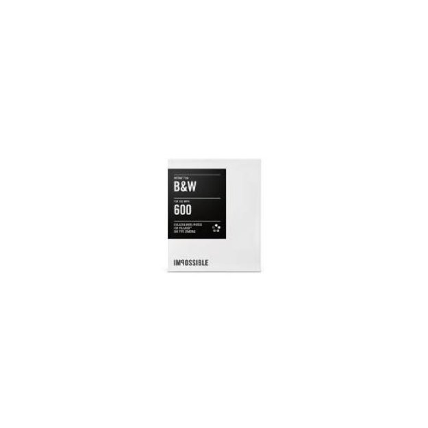 Impossible Project B & W Instant Film for 600 Type Cameras (10-Pack)