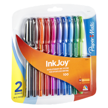 Paper Mate InkJoy Medium Assorted Ink Pens - 10 CT