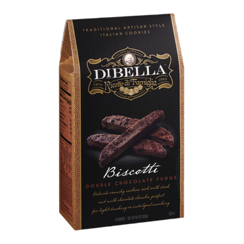 DiBella Biscotti Double Chocolate Fudge