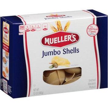 Mueller's Jumbo Shells Pasta, 12 oz