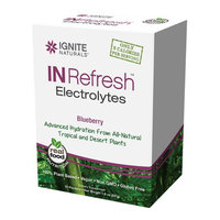Ignite Naturals IN Refresh Electrolytes Packets Blueberry