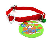 Tiny's Cat collar with bell- Pack of 24, DI326