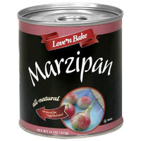 Love 'N Bake Marzipan, All Natural, 11-Ounce Can (Pack of 3)