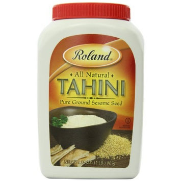 Roland Tahini Pure Ground Sesame Seed, 32-Ounce Container (Pack of 2)