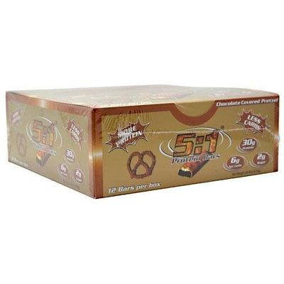 12 Beverage 2:1 5:1 Protein Bar Chocolate Covered Pretzel 12 - 2.4 oz (68g) Bars