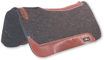 Classic Equine Gray Wool Felt Saddle Pad 31x32x1