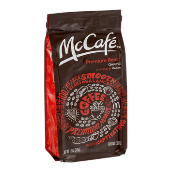 McCafe Ground Coffee Premium Roast Medium