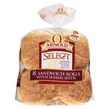 Arnolds Arnold Select Sandwich Rolls with Sesame Seeds 8 ct