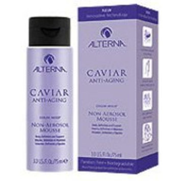 Caviar Anti-Aging Non-Aerosol Mousse for Unisex By Alterna, 3 Ounce