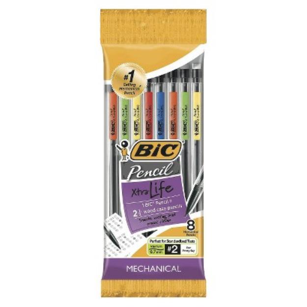 BIC 8ct Mechanical Pencil - .7mm Lead