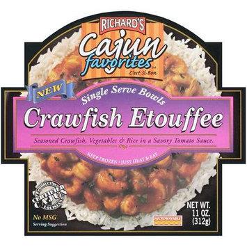 Richard's Cajun Favorites Crawfish Etouffee Single Serve Bowl, 11 oz