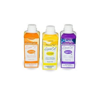 Global Healing Liquacel Liquid Protein Sugar Free Grape Bottles 6 X 32oz Case