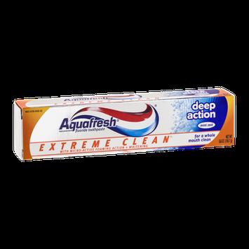 Aquafresh Extreme Clean Deep Action Fluoride Toothpaste Mint Zext