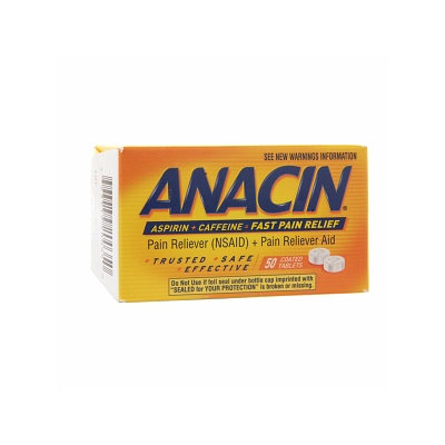 Anacin Pain Reliever (NSAID) + Pain Reliever Aid