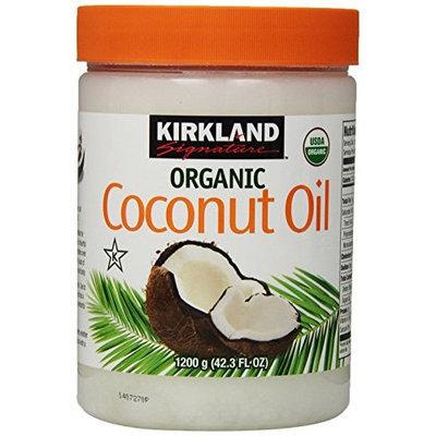 Kirkland Signature Organic Virgin Coconut Oil Cold Pressed Unrefined 42.3 Fl oz