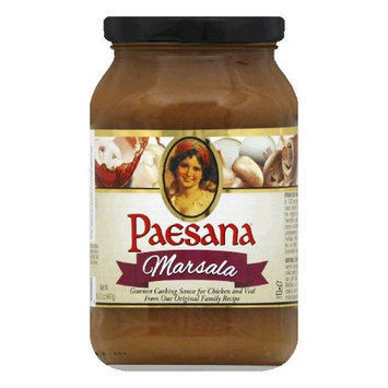 Paesana COOKING SAUCE, MARSALA, (Pack of 6)