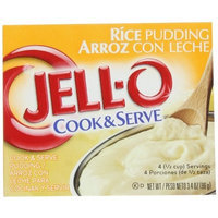 Jell-O Cook & Serve Rice Pudding, 3.4-Ounce Boxes (Pack of 24)