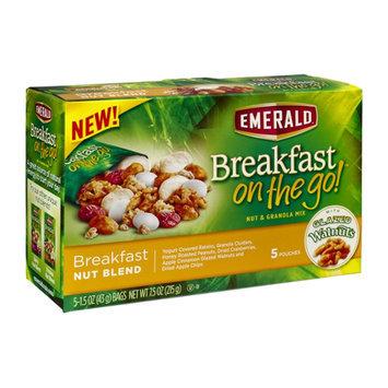 Emerald Breakfast On The Go Breakfast Nut Blend Granola Mix - 5 CT