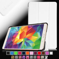 Fintie Smart Shell Case Ultra Slim Lightweight Stand Cove for Samsung Galaxy Tab S 8.4 (8.4-Inch) Tablet, White