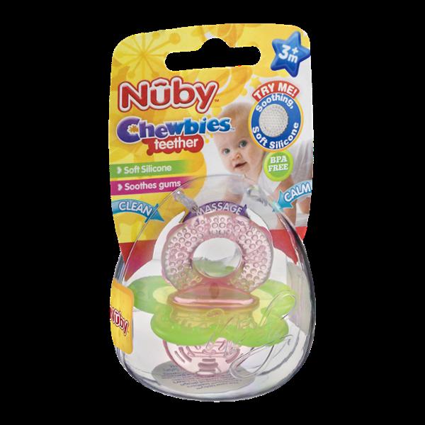 Nuby Chewbies Teether 3m+